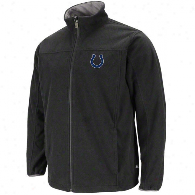 Indianapolis Colts Safety Blitz Iii Black Full-zip Jacket
