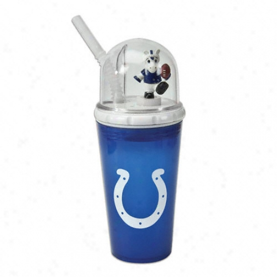 Incianapolis Colts Wond-up Mascot Cup