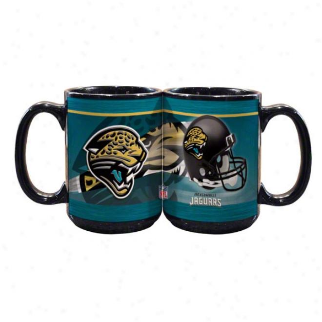 Jacksonville Jaguars 15oz. Helmet Mug