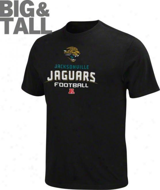 Jacksonville Jaguars Big & Tall Critical Victory V T-shirt