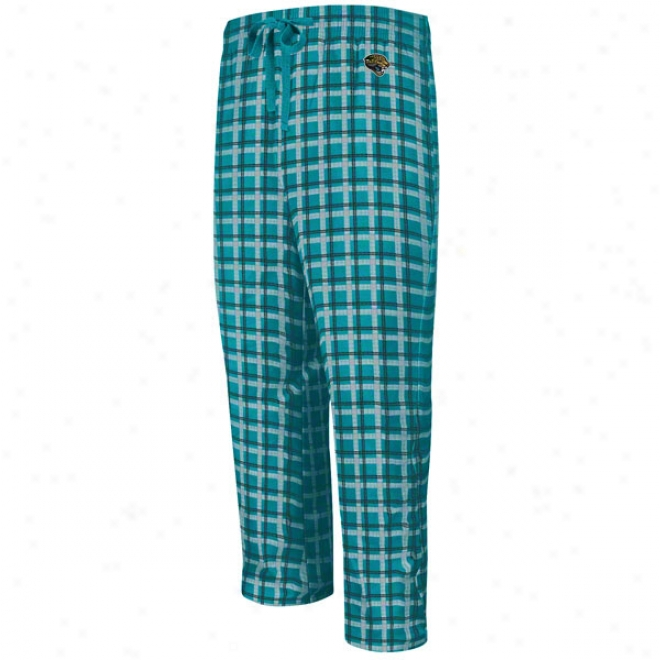Jacksonville Jaguars Crossbar Pedantic  Flannel Sleep Pants