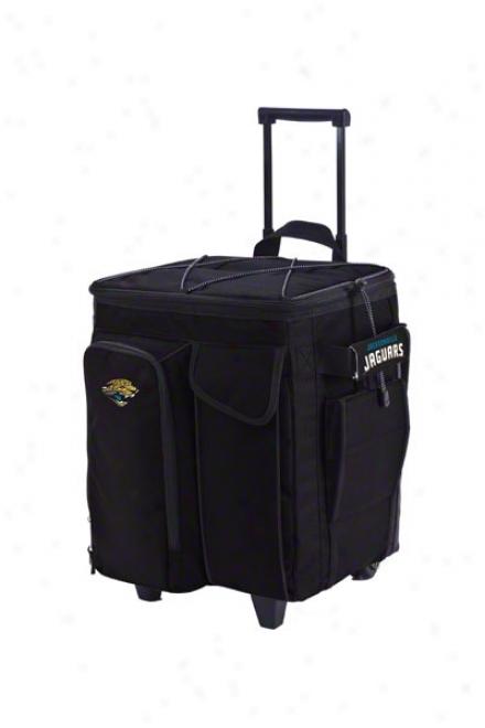 Jacksonville Jaguars Rolling Tailgate Cooler