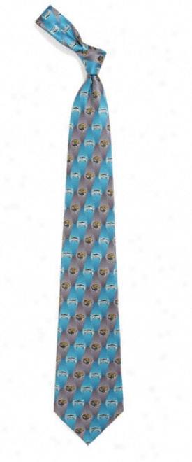 Jacksonville Jaguars Silk Tie 1