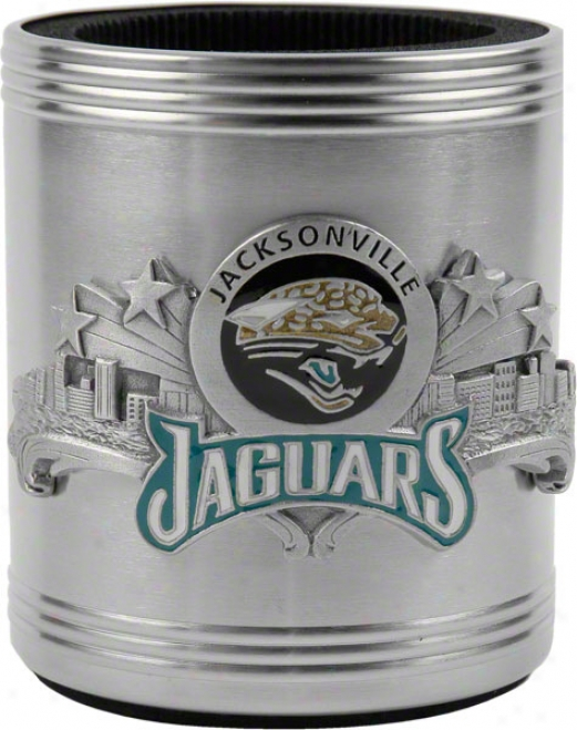 Jacksonville Jag8ars Stainless Steel Can Cooler