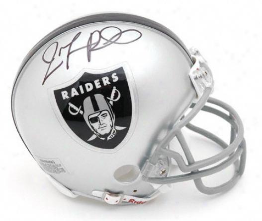 Jamarcus Russell Oakland Raiders Autographed Mini Helmet