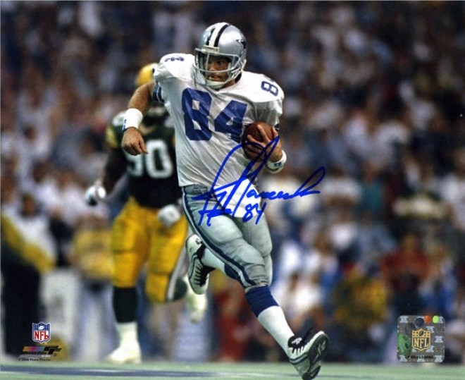 Jay Novacek Dallas Cowboys Autographed 8x10 Photograph