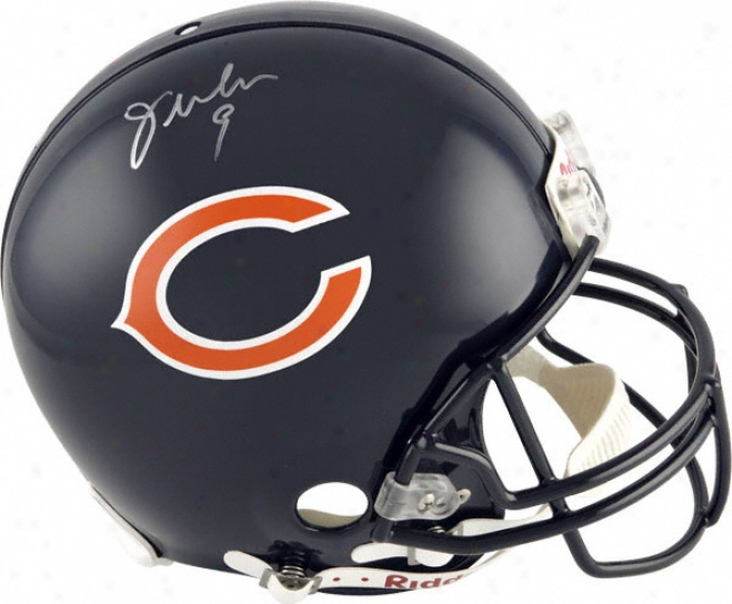 Jim Mcmahon Autographed Pro-line Helmet  Details: Chicago Bears, Genuine Riddell Helmet