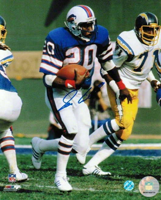 Joe Cribbs Autographed Buffalo Bills 8x10 Photo