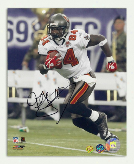 Joey Galloway Tampa Bay Buccaneers Autographed 8x10 Photograph
