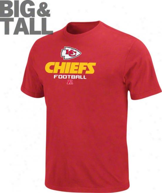 Kansas City Chiefs Big & Tall Critical Victory V T-shirt