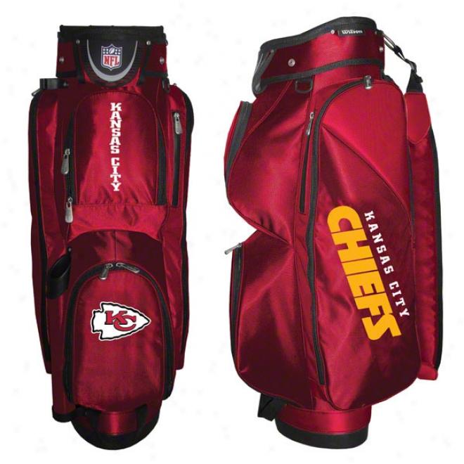 Kansas City Chiefs Cart Golf Bag