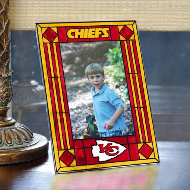 Kansas City Chiefs Glass Picture Form