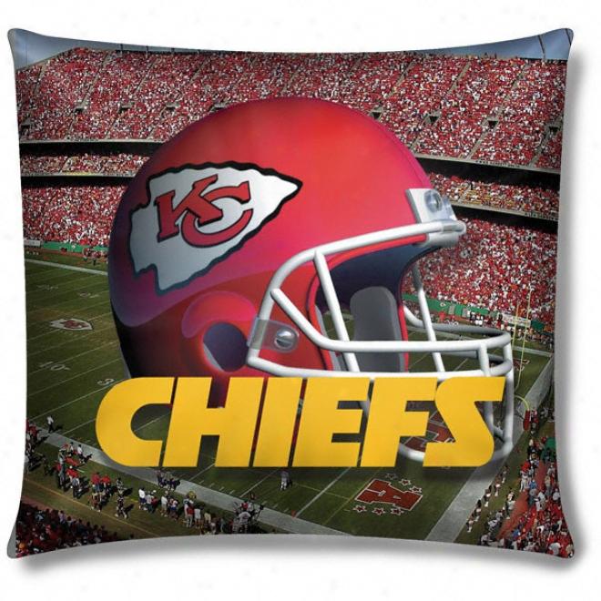 Kansas City Chiefs Photo Realistic Pillow