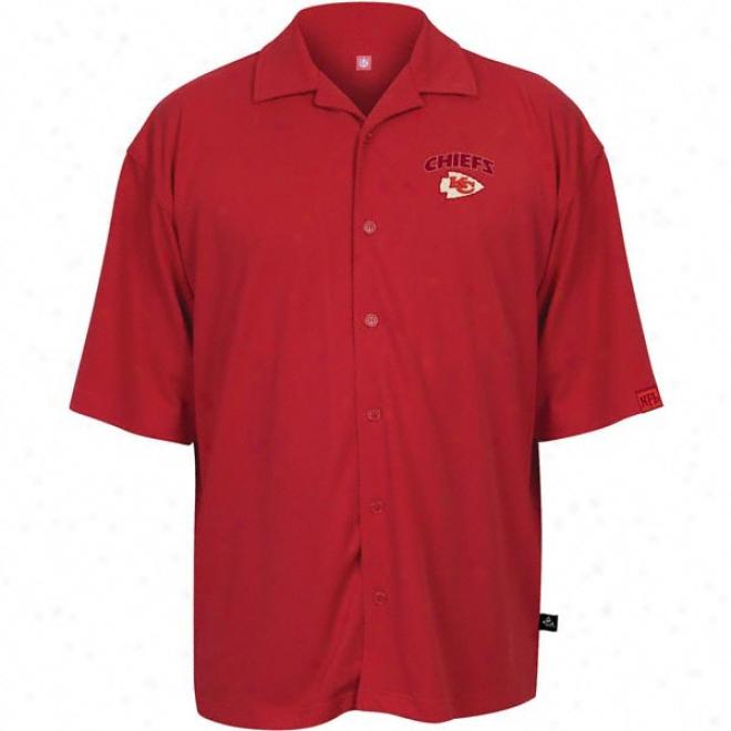 zKnsas City Chiefs Red Possession 2 Camp Shirt