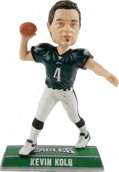 Kevin Kolb Philadeopia Eagles #4 End Zone Bobble Head- Road