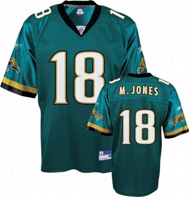 Matt Jones Reebok Nfl Teal Jacksonville Jaguars Toddler Jersey