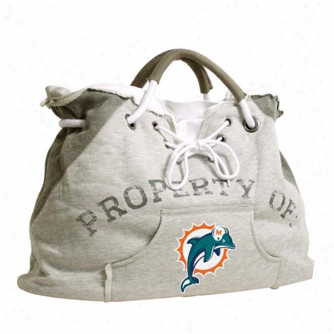 Miami Dolphins Hoodie Tote Bag