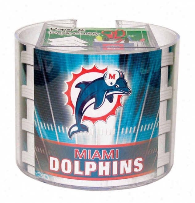 Miami Dolphins Paper & Desk Caddy