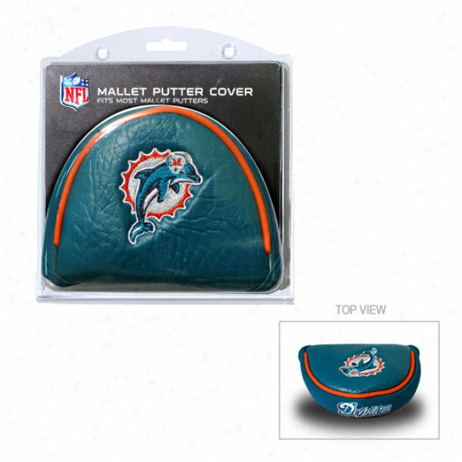Miami Dolphins Putter Cover - Mallet