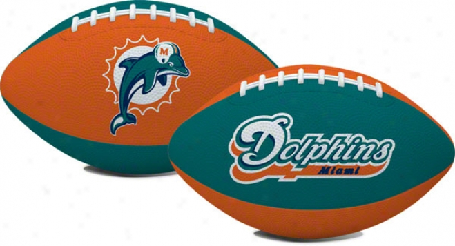Miami Dolphins &quohail Mary&quot Youth Size Football