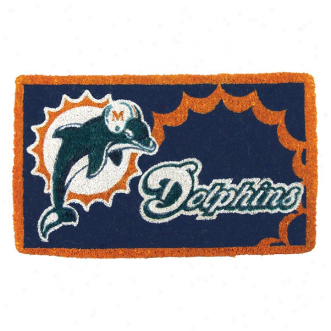 Miami oDlphins Welcome Mat