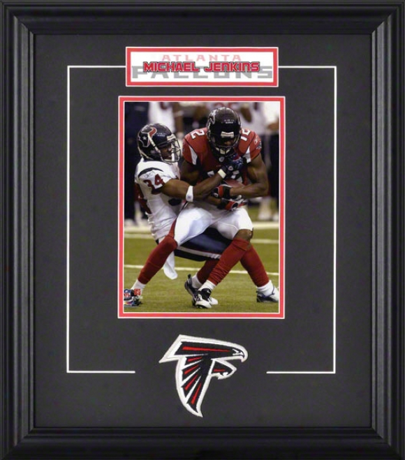 Michael Jenkins Framed 6x8 Photograph With Team Logo & Plate