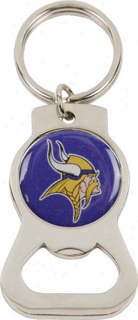 Minnesota Vikings Bottle Openner Keychain