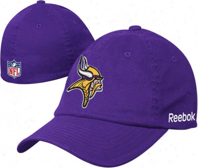 Minnesota Vikings Purple Flex Sideline Lubber Hat