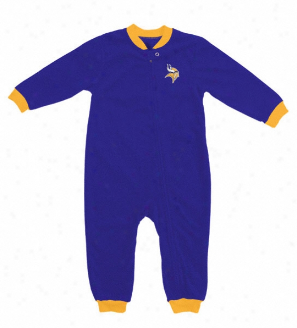 Minnesota Vikings Toddler Blanket Sleeper