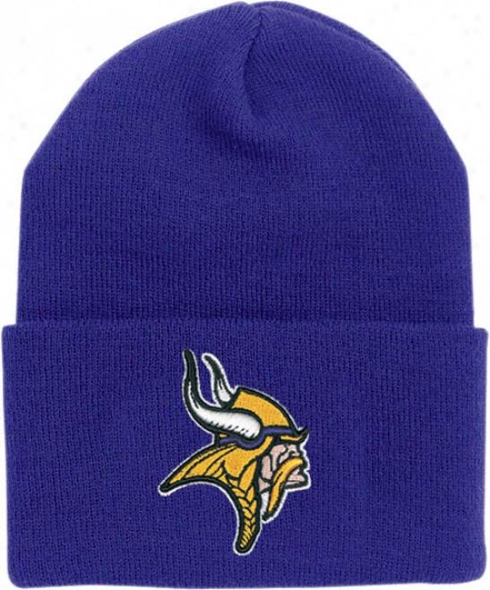 Minnesota Vikings Youth/kids Cuffed Knit Hat