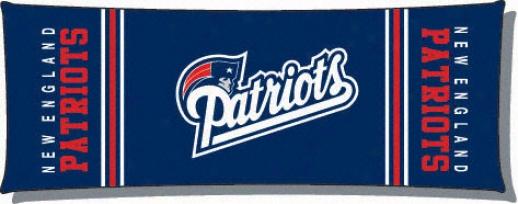 New England Patriots Body Pillow