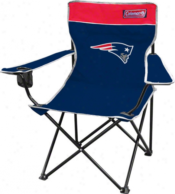 New England Patriots Coleman Quad Tailgate Chair