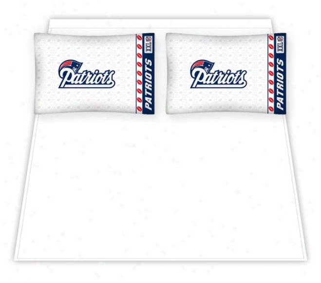 New England Patriots Micro Fiber Full Sheet Set