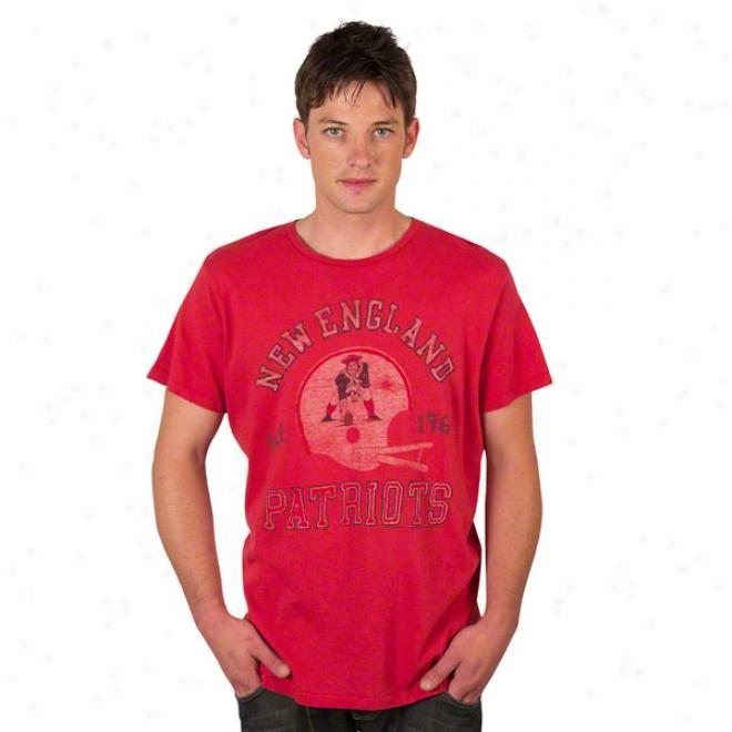 New England Patriots Solid Vintage T-shirt