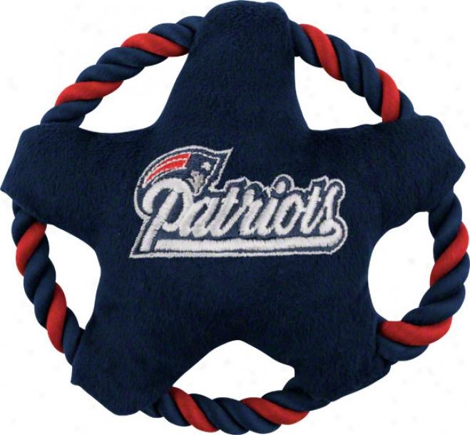 New England Patriots Stsr Disk Dog T0y