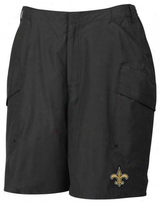 New Orleans Saints 2010 Coaches Sideline Black Party Pocket Short