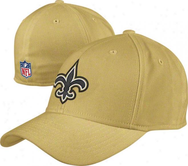 New Orleans Saints Flex Hat: 2011 Sideline Structured Flex Hat