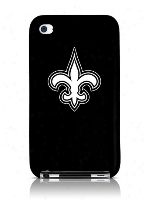 New Orleans Saints Ipod Touch 4g Silicone Cover