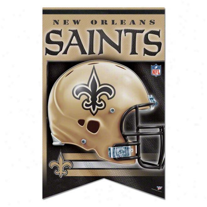 New Orleans Saints Premium 17x26 Banner
