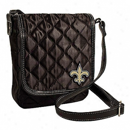 New Orleans Saints Quilted Purse