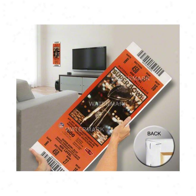 New Orleans Saints Super Bowl Xliv Mega Ticket