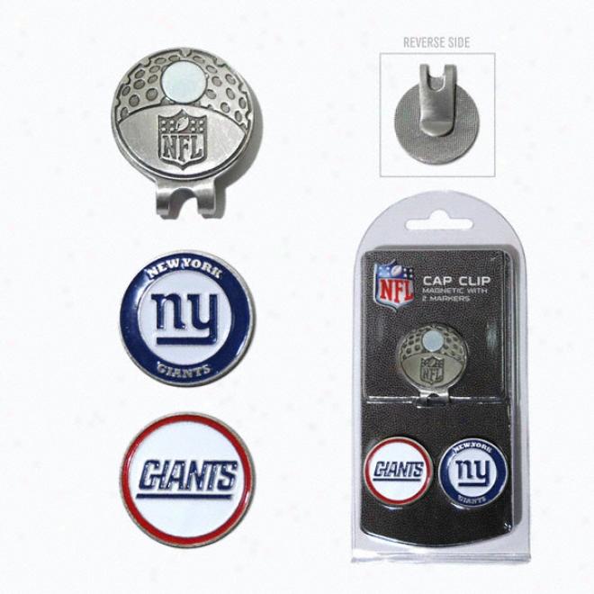 New York Giants Ball Marker Cap Clip