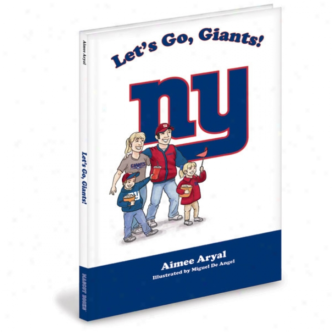 New York Giants Children's Book &quotlet's Go, Giants!&quot By Aimee Aryal