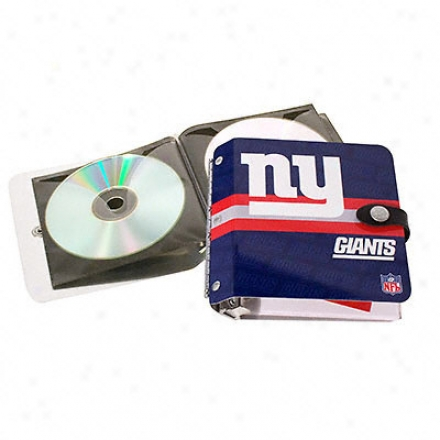 New York Giants Rock-n-road Cd Holder