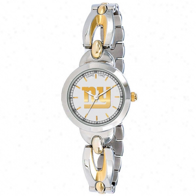 New York Giants Team Watch - Elegance Succession - Two Tone