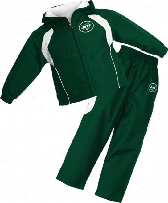 Just discovered York Jets Infant Full-zip Hooded Jacket And Pant Set