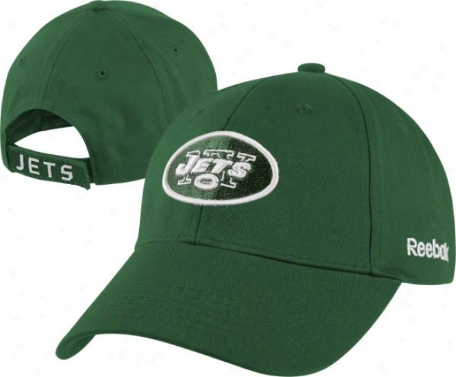 New York Jets Kid's 4-7 Home Team Adjustable Hat
