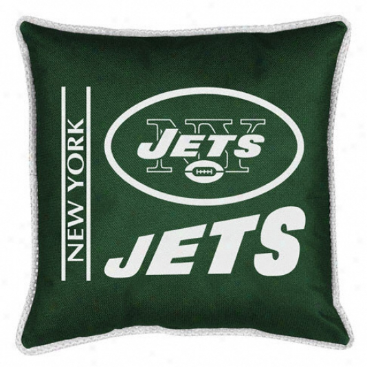New York Jets Sideline Pillow