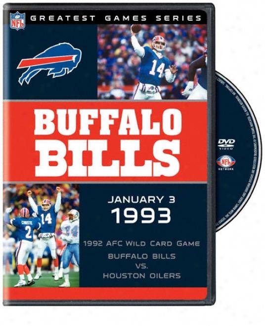 Nfl Greatest Games Serise: Bills Vs. Oilers