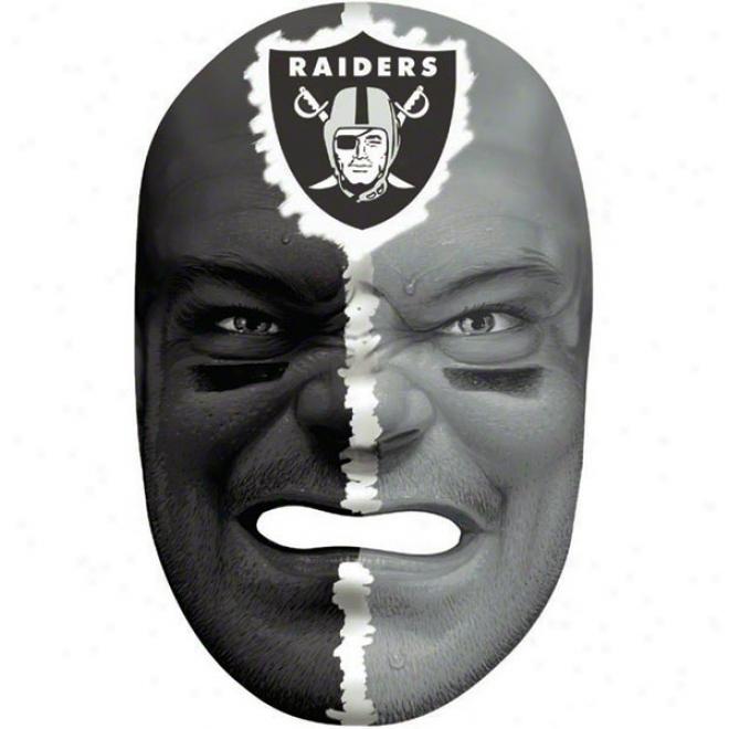 Oakland Raiders Team Fan Face Mask